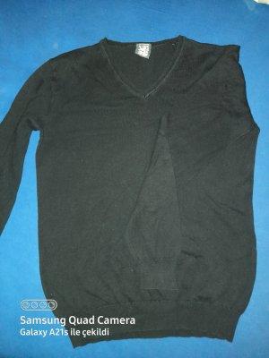 SMOG Pullover all'uncinetto nero