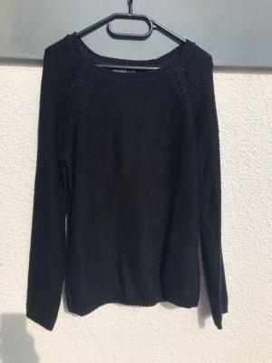 Schwarzer Pullover - Gr. L