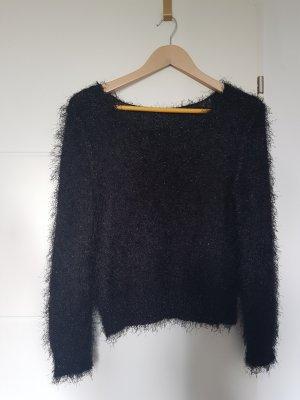 Schwarzer Pullover, Größe S, H&M