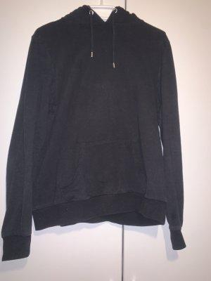 Schwarzer Pullover/Hoodie