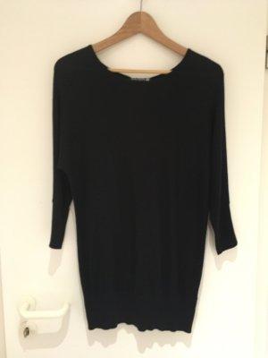 Schwarzer Pullover mit Knopfleiste am Rücken von Betty Barclay in Größe 38