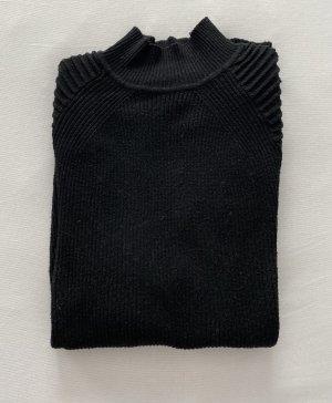 River Island Turtleneck Sweater black