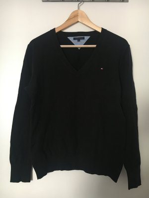 Schwarzer Pullover Tommy Hilfiger XL