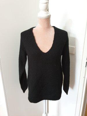 schwarzer Pullover von H&M