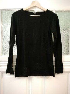 Schwarzer Pullover von Marble, Gr. 36
