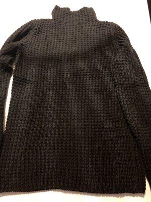 Schwarzer Pullover von Repeat Größe 38