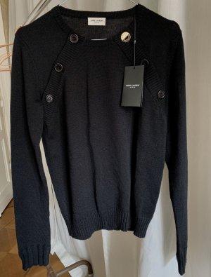 Schwarzer Pullover von Saint Laurent