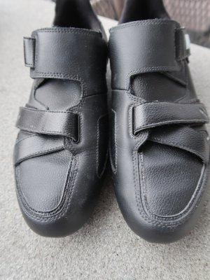 Puma Zapatillas con velcro negro Cuero