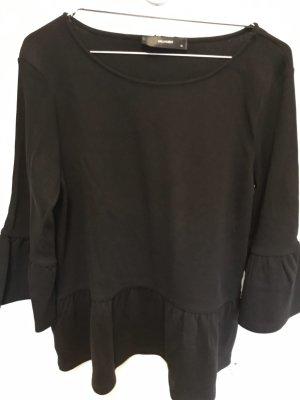 Hallhuber Short Sleeve Sweater black