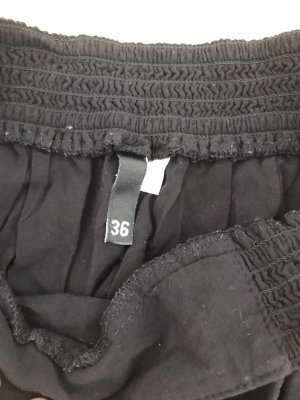 H&M Divided Falda pantalón negro
