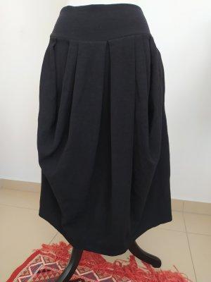 Sarah Pacini Midi Skirt black