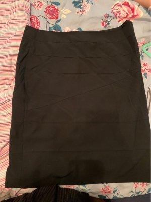Comma Ołówkowa spódnica czarny