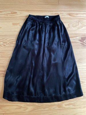 ARKET Midi Skirt black