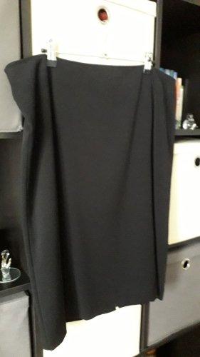 C&A Spódnica midi czarny Poliester