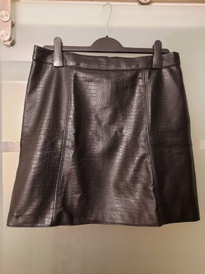 Orsay Faux Leather Skirt black