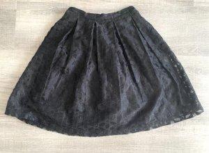 ANONYME Plooirok zwart