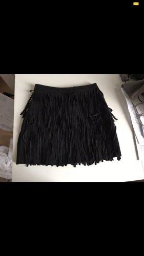 H&M Franjerok zwart