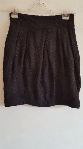 Gestuz Mini rok zwart Gemengd weefsel