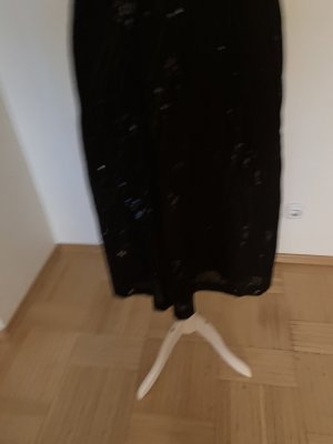 Hirsch Maxi gonna nero Cotone