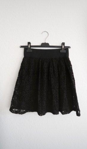 Gina Tricot Lace Skirt black
