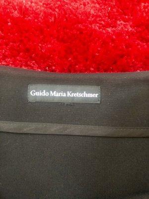 Schwarzer Rock von Guido Maria Kretschmer mit Pailletten Größe S