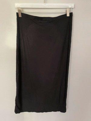 Schwarzer Rock von H&M Basic, Gr. S
