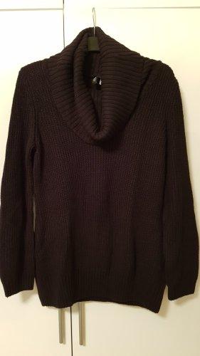 H&M Divided Jersey de punto grueso negro
