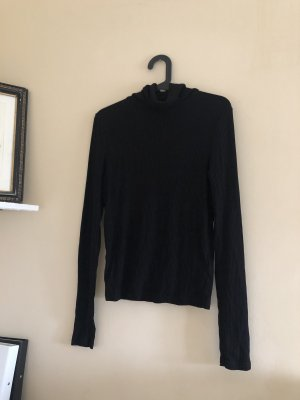 H&M Turtleneck Shirt black