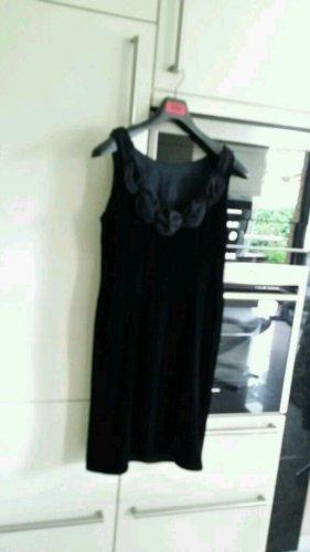 ae elegance Vestido de noche negro