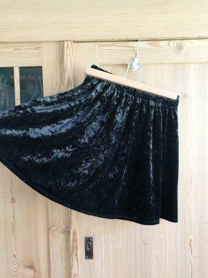 Garage Skaterska spódnica czarny Aksamit