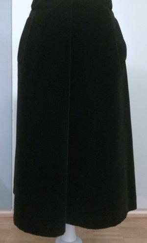 Bogner Spódnica midi czarny Bawełna