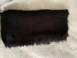 Zara Bufanda de flecos negro