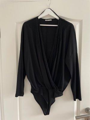 Zara Trafaluc Bodysuit Blouse black