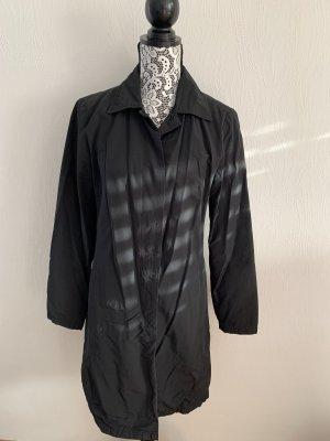 Schwarzer schlichter Mantel von Sisley Gr. S/M