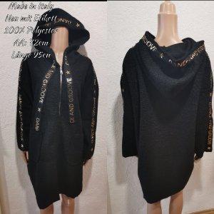 Made in Italy Coat Dress black