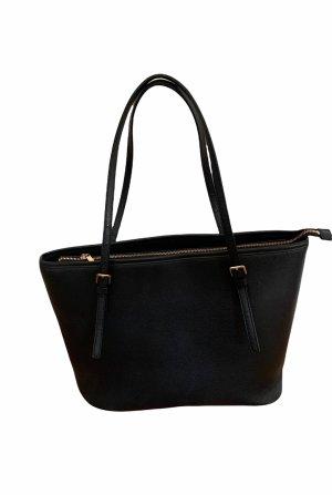 Schwarzer Shopper - Handtasche