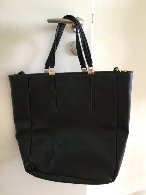 Schwarzer Shopper von Zara