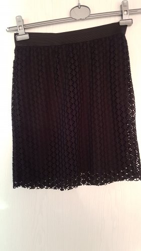Only Lace Skirt black