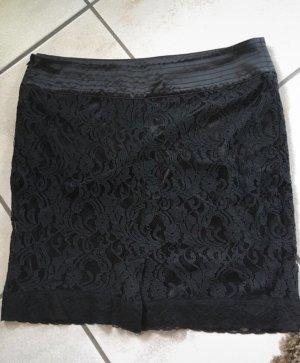 vivian caron Falda de encaje negro