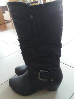 Schwarzer Stiefel Gr.41