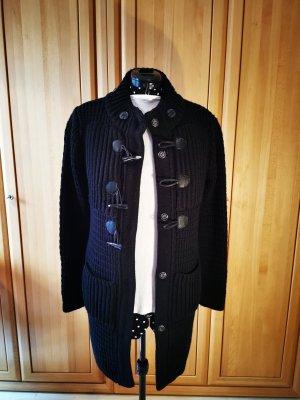 LTB Manteau en tricot noir