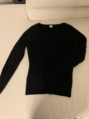 3suisses Sweter z dzianiny czarny