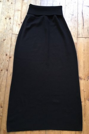 schwarzer Strickrock von CoraKempermann