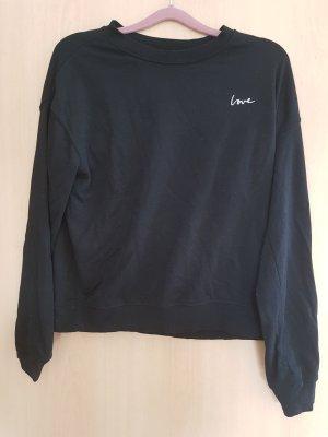 Schwarzer Sweater von H&M