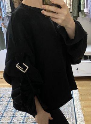 Schwarzer Sweater von Zara trf