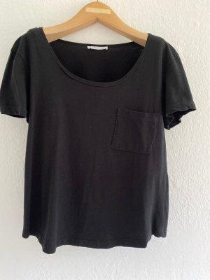 Schwarzer T-Shirt von Zara Gr.34/S