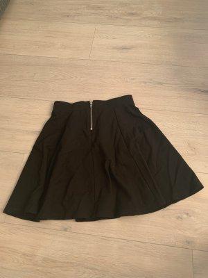 H&M Falda circular negro