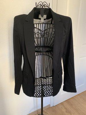 Schwarzer taillierter Blazer von H&M