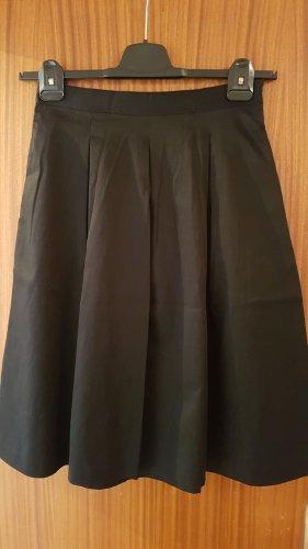 Hallhuber Circle Skirt black