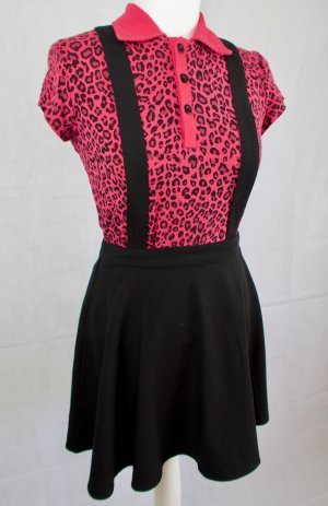 H&M Divided Pinafore skirt black